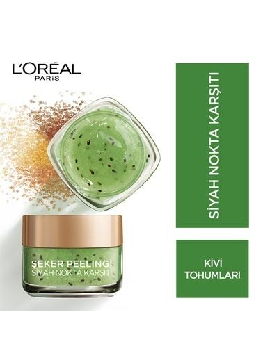L'Oréal Paris Şeker Peelingi Siyah Nokta Karşıtı Renksiz